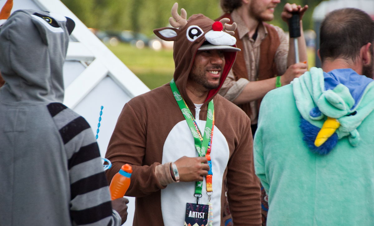 Onesies always in fashion at Awakening, no matter the season.